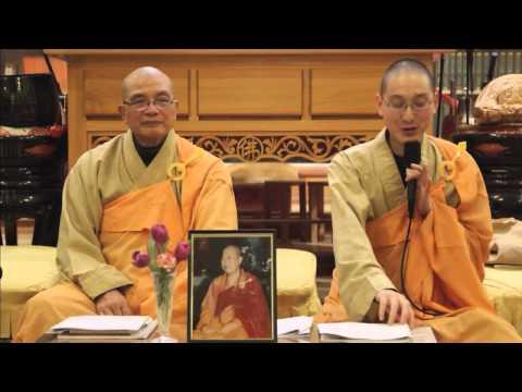 Infinite Life Sutra (無量壽經) at Berkeley Buddhist Monastery (#1, 29 November 2014)