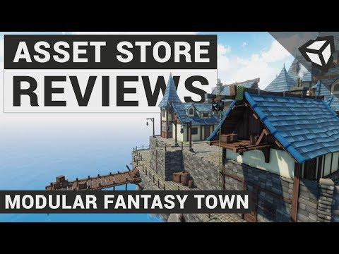 Asset Review: Modular Fantasy Pack | Unity 3D