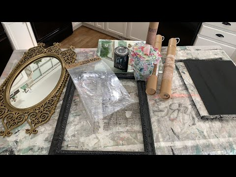 🔴 Thrift Store Mirrors Before and After | WNW