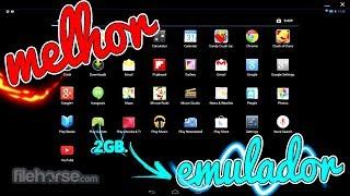 NOVO EMULADOR PARA PC FRACO 2GB SEM PLACA DE VIDEO 32/64 BITS PC/NOTEBOOK FRACO