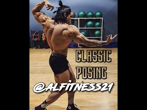 Posing By IFBB Pro Alexander Fong w freestyle at Miami
