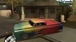 customised slamvan (GTA san andreas)