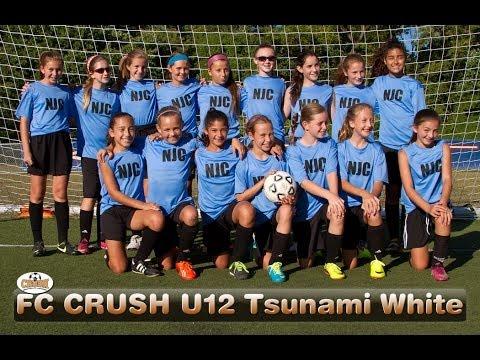 NJ CRUSH FC TSUNAMI WHITE VS LEHIGH VALLEY UNITED LVU 01 GIRLS GOLDU12 -Girls Soccer