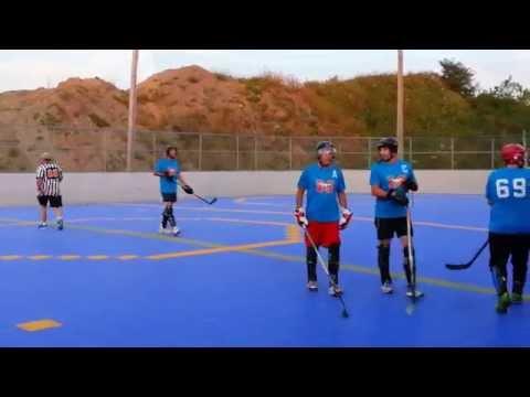 Ball Hockey Dek, MUSTANGS vs TITANS part 1 St-jerome