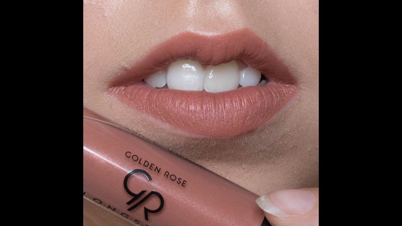Golden Rose Longstay Liquid Lipstick סוואטשים Youtube