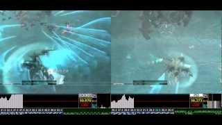 ZOE HD ANUBIS GamePlay Analysis X360 vs PS3