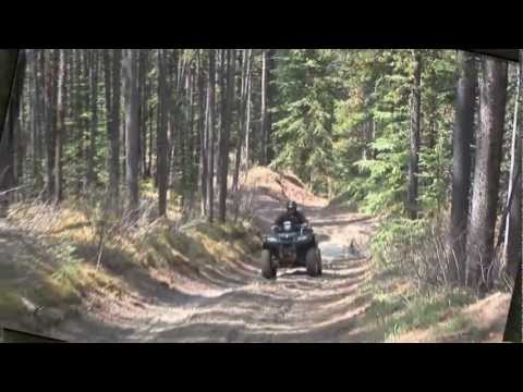 Go Riding TV. Riding in Alberta with the Calgary ATV Club. Show 4