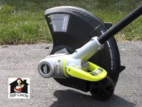 How to Use Ryobi Cordless Trimmer