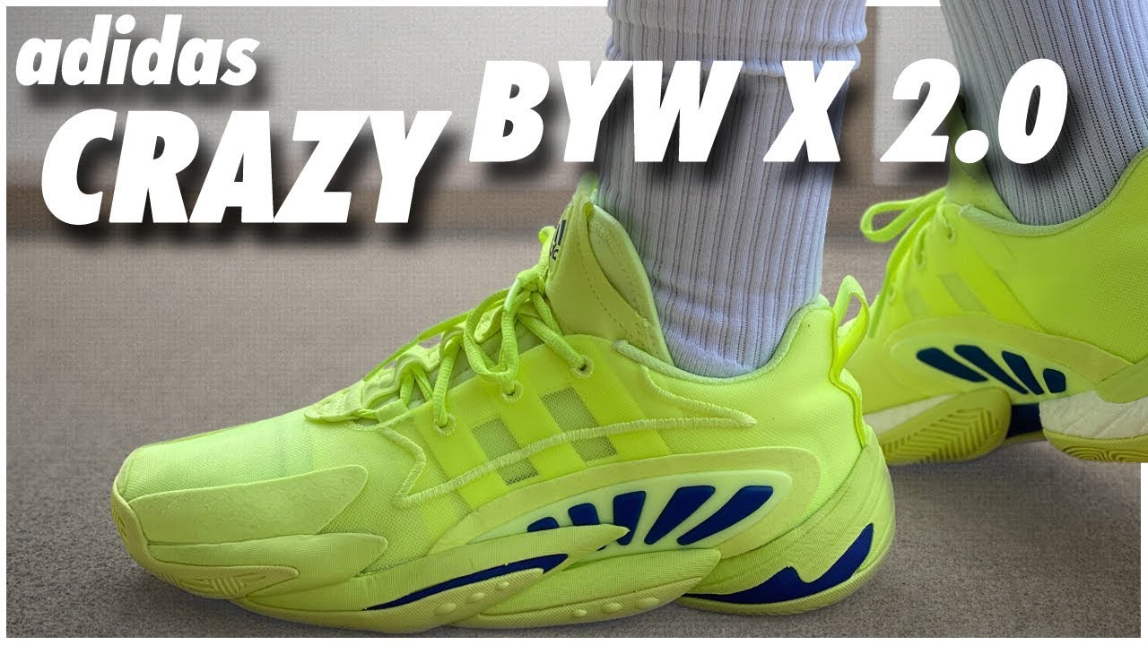 adidas crazy byw x 2.0