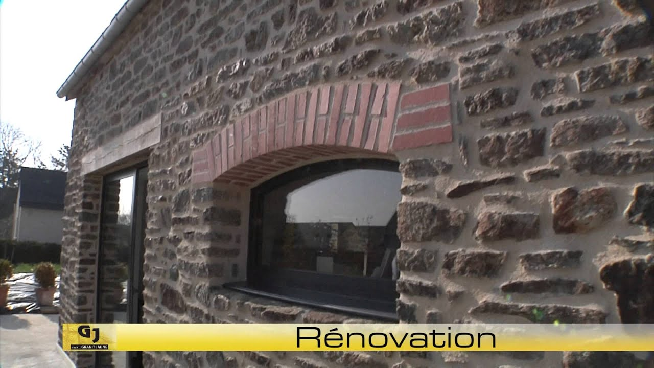 Renovation exterieure tailleur de pierres maconnerie st for Mure en pierre interieur
