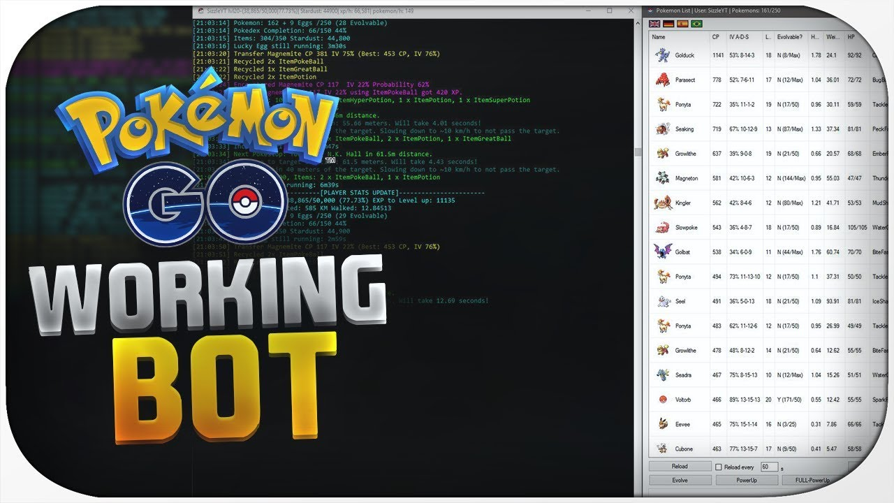 Hack Pokemon GO SNIPER² (POKESNIPER) (PC)