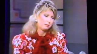 Terri Garr David Letterman 1980