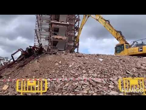 Últimos días de demolición en el viejo Xeral