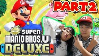 【Part2】マリオブラザーズをさとゆいでプレイしてみたらwww【NewスーパーマリオブラザーズUデラックス】