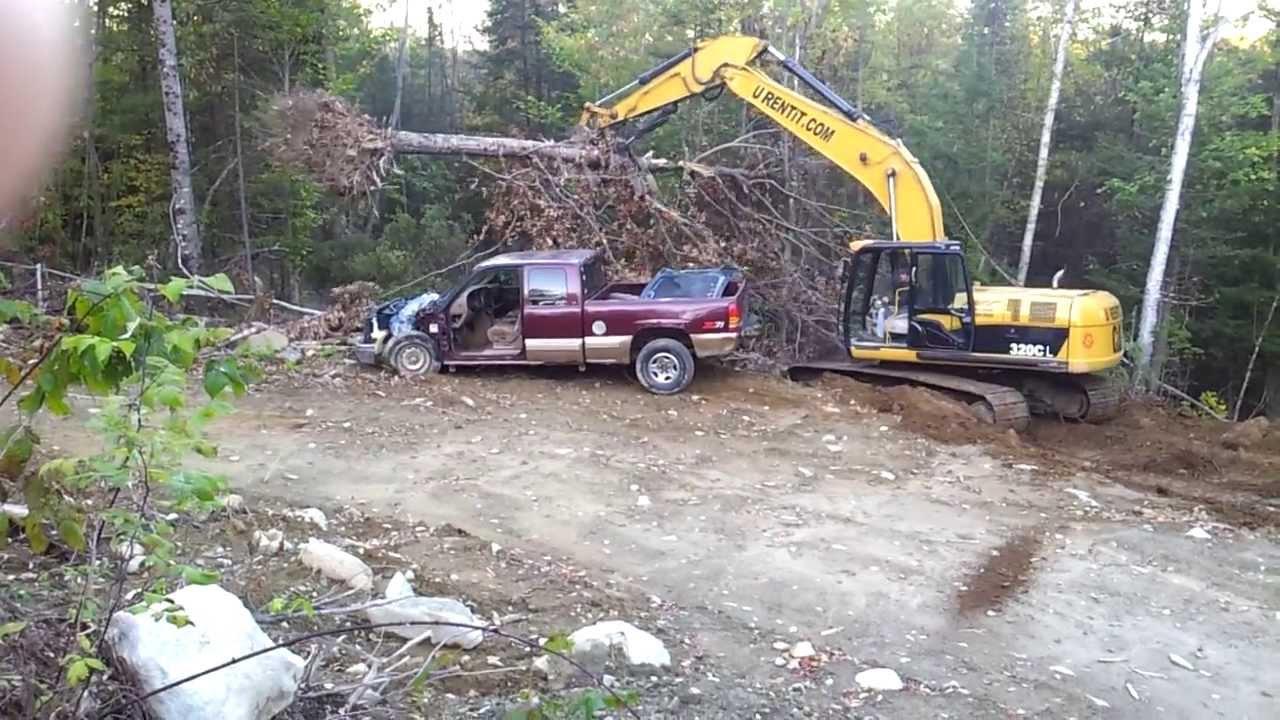 caterpillar 320 excavator roadbuilder youtube