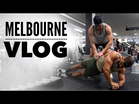 Melbourne In 1 Day (Scitec Photoshoot/Arnolds Expo) | Nathan McCallum