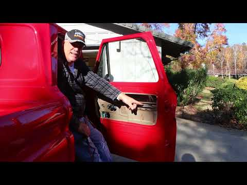 65 Chevy Truck Power Window Install