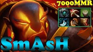 Dota 2 - SmAsH 7000 MMR Plays Ember Spirit Vol 8 - Ranked Match Gameplay!