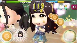 AKB音ゲー 2015.12.17 は横島亜衿さんのお誕生日。 【涙サプライズ】のH...