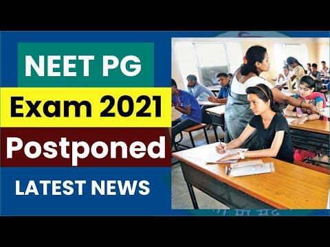 NEET PG  Exam 2021 Postponed || latest Exam Update || neet exams || Prabhat Exam