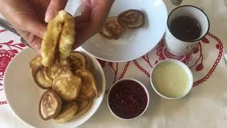 ПЫШНЫЕ ОЛАДЬИ на КЕФИРЕ за 5 Минут / Самый простой рецепт Вкусных Оладьев / Pancakes on Kefir / #10