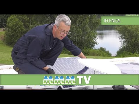 MMM TV - How to Fit a Solar Panel to a Motorhome