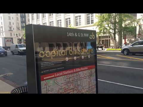 WASHINGTON DC - CAPITAL BIKESHARE