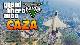 Avión Caza GTA V | El Vehículo Más Potente Y Rápido De Grand Theft Auto V