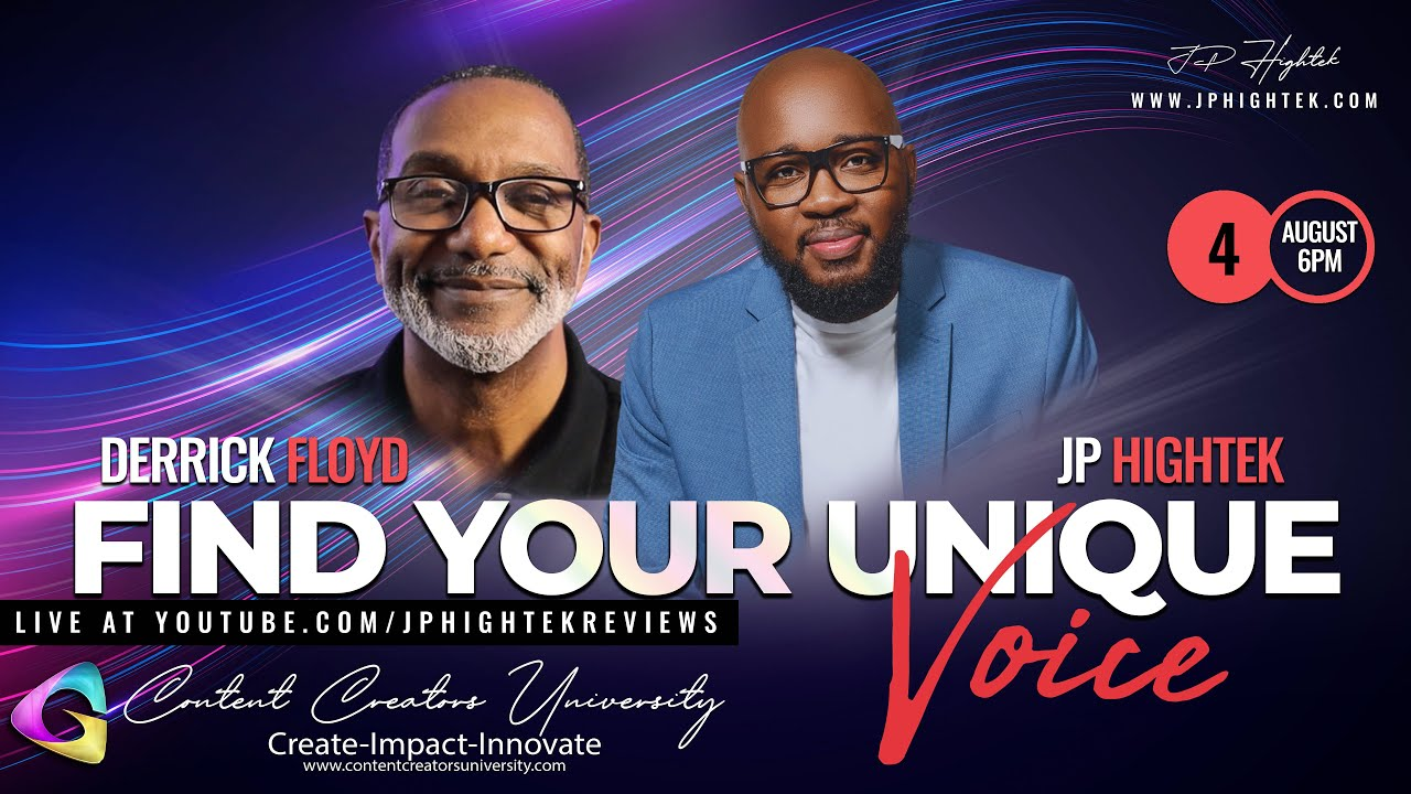 🔴 Find Your Unique Voice as a Creator with Derrick Floyd