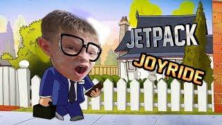 Jetpack Joyride - очень старая, но крутая игра! ИГРЫ ДЛЯ ДЕТЕЙ брос шоу геймс 7+