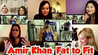 Girls Reactions: Fat To Fit | Aamir Khan Body Transformation | Dangal