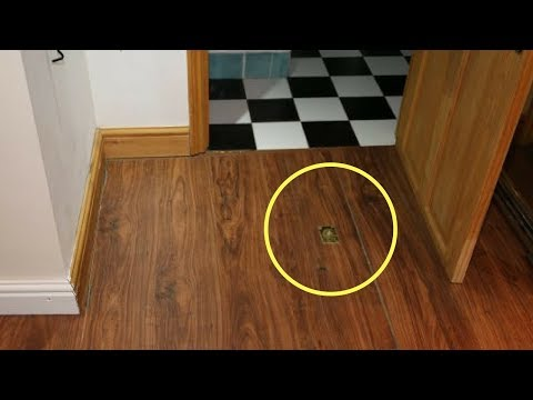 man just moved into new apartment then discovers secret in the building