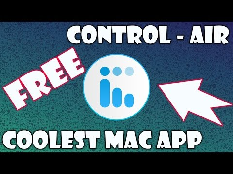 The Best Free App For Your Mac To Control Music // Control Air App Review