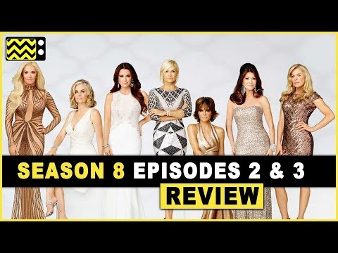Real Housewives Of Beverly Hill Season 8 Episodes 2 & 3 Review & Reaction | AfterBuzz TV