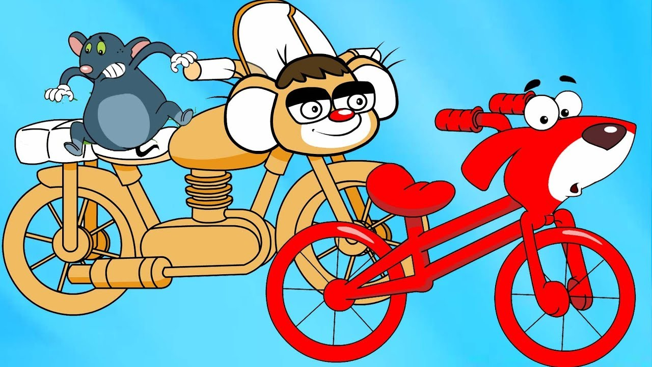 Rat-A-Tat |\'Red Motorcycle And More Cartoons ▻2\'| Chotoonz Kids ...