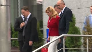 World Cup: Croatian President leaves players' hotel before final