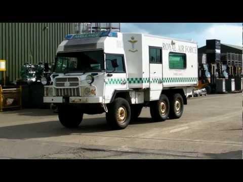 Witham Auction of Surplus Military Vehicles Tanks AFVs Trucks April 2012
