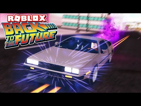 They Added a Delorean Time Machine to Roblox! (Vehicle Simulator Update!)