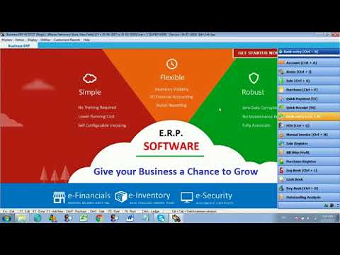 ERP Software  Learn Easy Banking