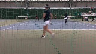 第16回全国専門学校テニス選手権 女子個人戦ダブルス決勝 小野美帆・...