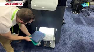 Foldimate, il robot che piega la biancheria - CES 2019