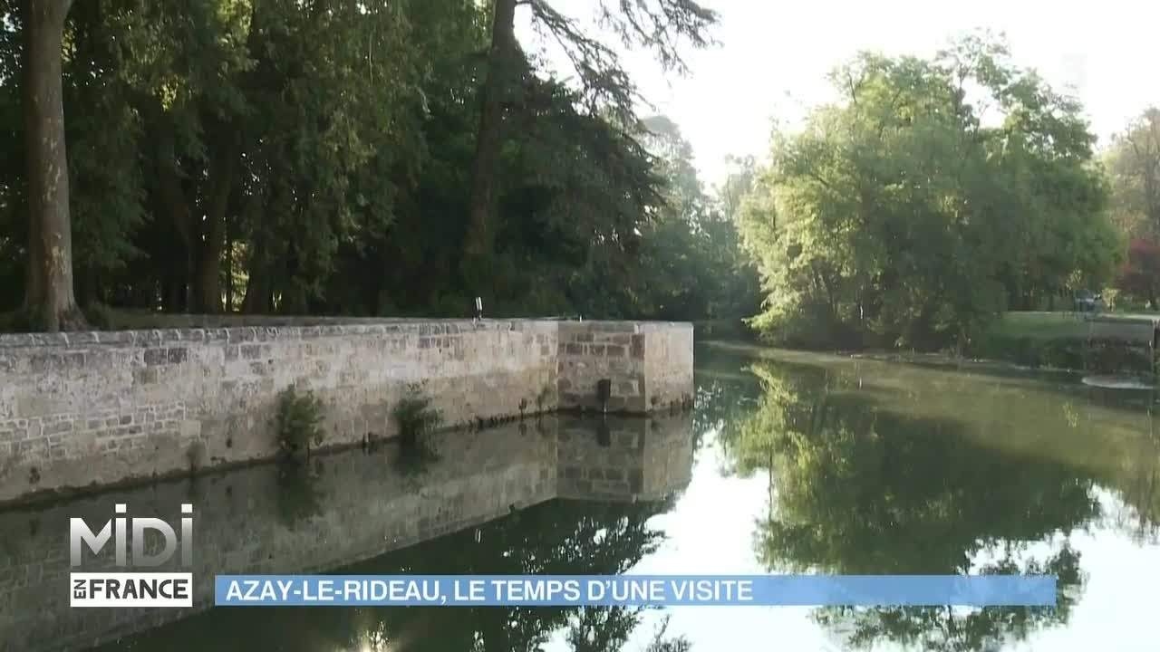 SUIVEZ LE GUIDE : Azay-Le-Rideau, le temps d\'une visite - YouTube