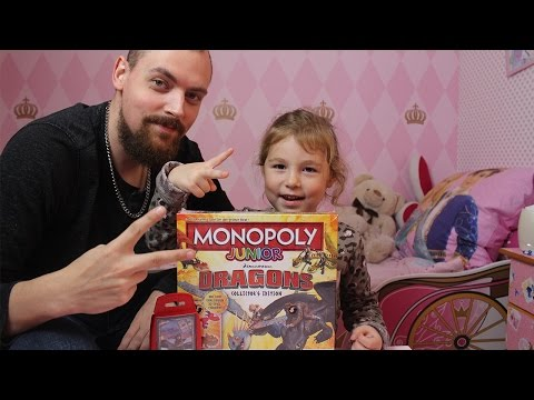 Monopoly Junior Dragons Edition Unboxing mit Kimberley & Marcel