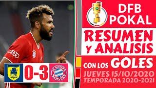 Copa de ALEMANIA (2020) 🏆 Resumen DUREN vs BAYERN MUNICH (0-3) Hoy [DFL - POKAL] Futbol EUROPEO ⚽️🔥