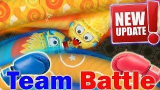 Wormate.io © Wormateio Team Battle Multiplayer Red vs Blue -  Wormate Newest Update Play 2017 ✓