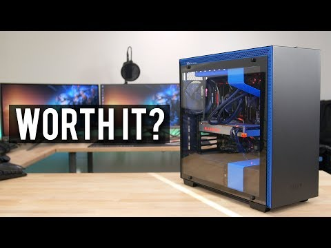 What's it like to build inside the new NZXT H700i?
