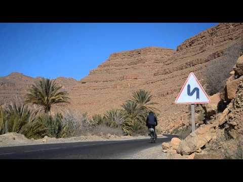 Cycling Morocco, through the Atlas mountain ranges
