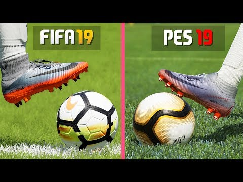 FIFA 19 VS PES 19 GRAPHICS COMPARISON