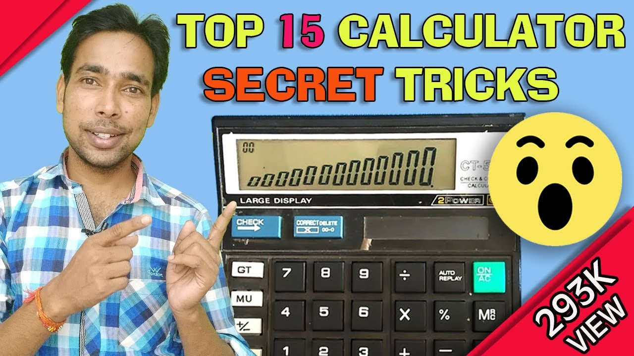 calculator top15 secret tips and trick in hindi | by: hinditrickmasti