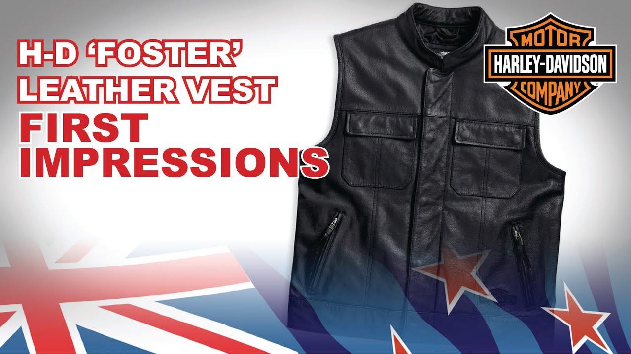JAYEFO Leather Vest 4XL, Black